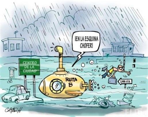 Caricatura de la *Seccion Carrusel de la Vida* Periodico *El día*